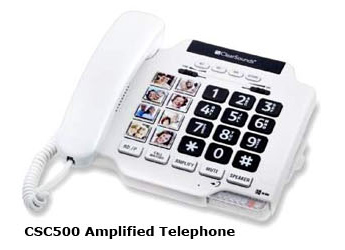 Photo of CSC500 Amplified Telephone