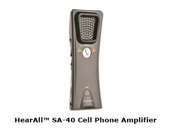 Photo of HearAll™ SA-40 Cell Phone Amplifier
